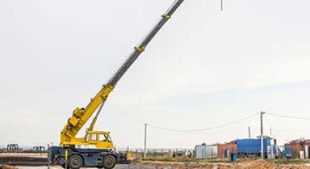 Outrigger Truck mounted crane